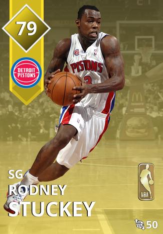 '15 Rodney Stuckey gold card