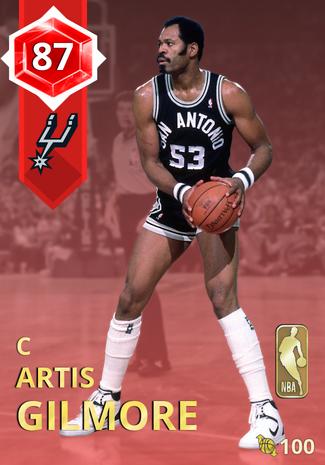 '78 Artis Gilmore ruby card