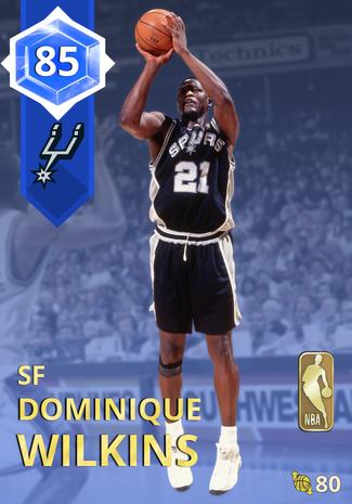 '89 Dominique Wilkins sapphire card