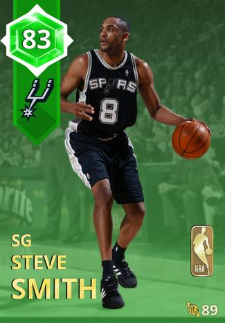 '98 Steve Smith emerald card