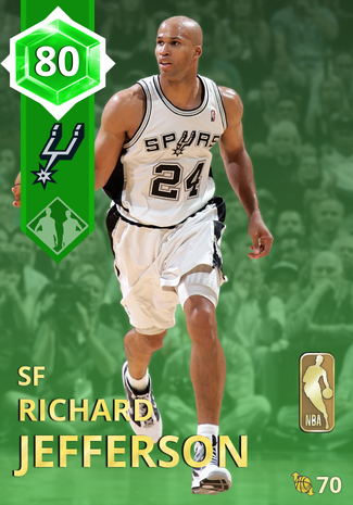 '09 Richard Jefferson emerald card