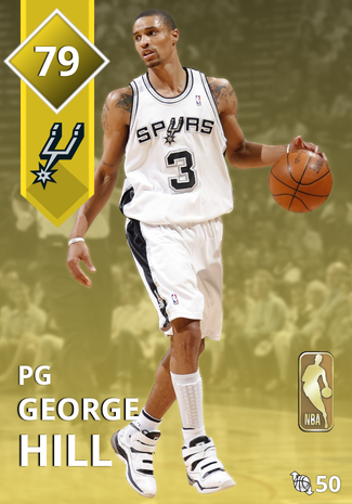 '15 George Hill gold card