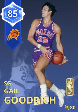 '72 Gail Goodrich sapphire card