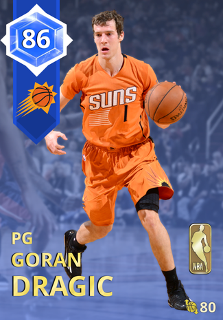 '15 Goran Dragic sapphire card