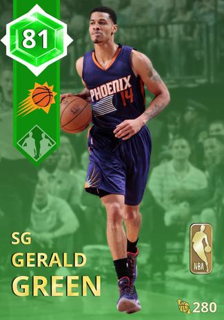 '15 Gerald Green emerald card