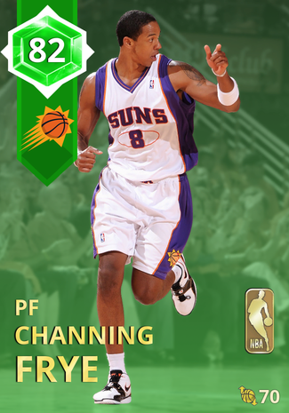 '12 Channing Frye emerald card