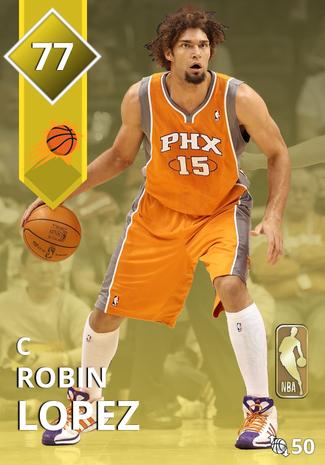 '17 Robin Lopez gold card