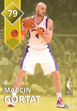 '13 Marcin Gortat gold card