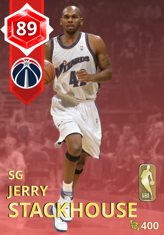 '03 Jerry Stackhouse ruby card