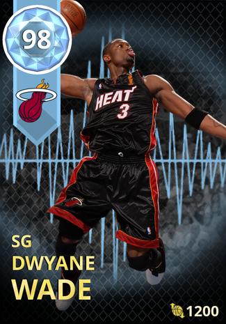 '10 Dwyane Wade diamond card