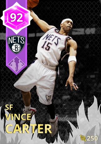 '10 Vince Carter amethyst card