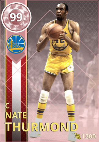 '81 Nate Thurmond pinkdiamond card