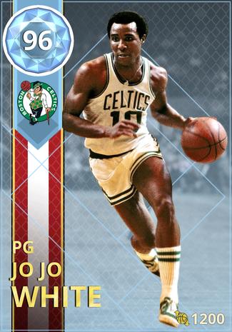'76 Jo Jo White diamond card