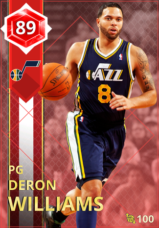 '13 Deron Williams ruby card