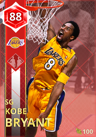 '02 Kobe Bryant ruby card