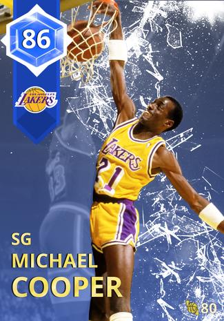 '89 Michael Cooper sapphire card