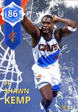 '03 Shawn Kemp sapphire card