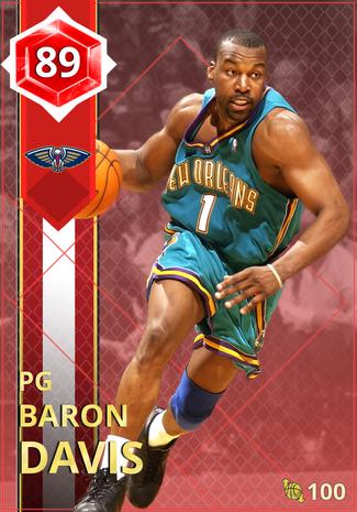 '08 Baron Davis ruby card