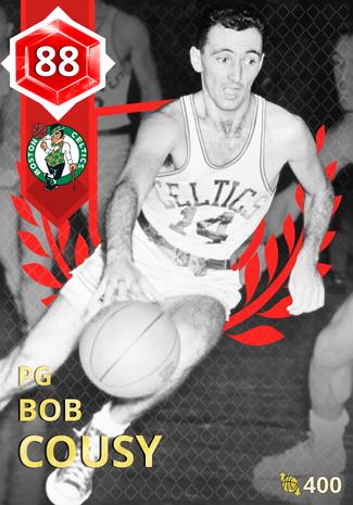'74 Bob Cousy ruby card