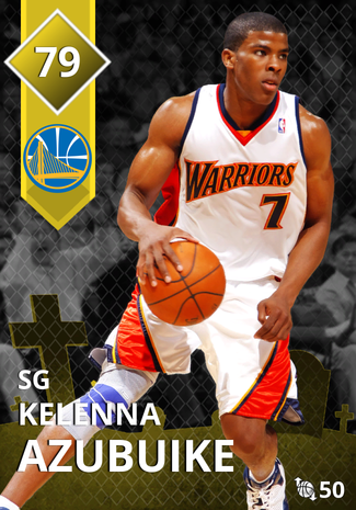 '12 Kelenna Azubuike gold card