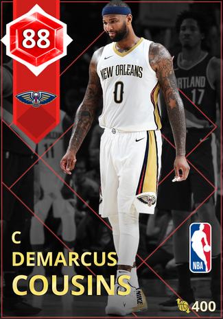 DeMarcus Cousins ruby card