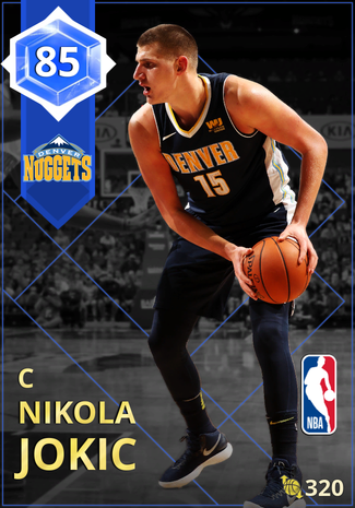 Nikola Jokic sapphire card