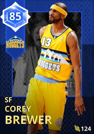 '17 Corey Brewer sapphire card