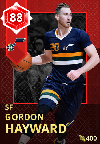 '20 Gordon Hayward ruby card