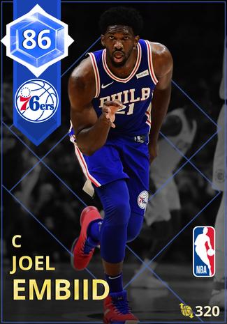 Joel Embiid sapphire card