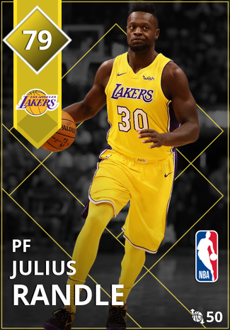 Julius Randle gold card