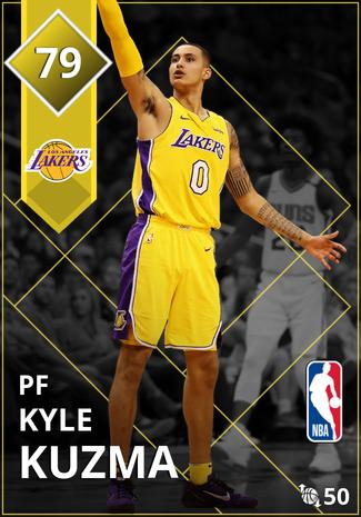 Kyle Kuzma gold card