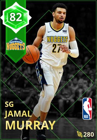 Jamal Murray emerald card