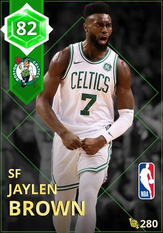 Jaylen Brown emerald card
