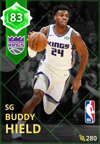 Buddy Hield emerald card