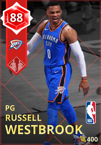 Russell Westbrook ruby card