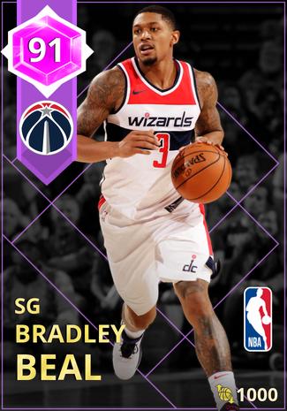 Bradley Beal amethyst card