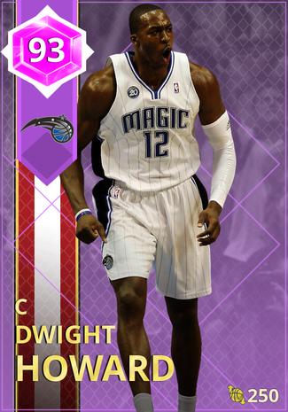 '21 Dwight Howard amethyst card