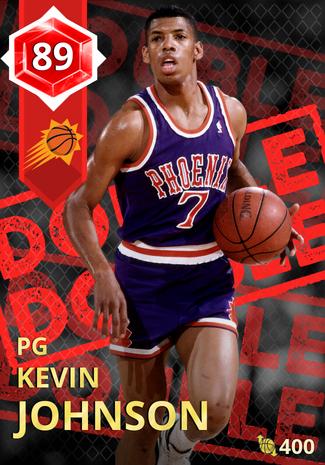 '01 Kevin Johnson ruby card