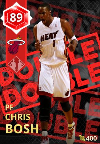 '14 Chris Bosh ruby card