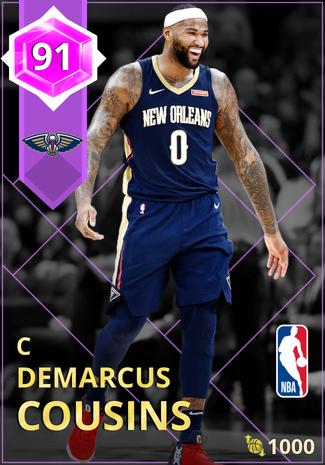 DeMarcus Cousins amethyst card