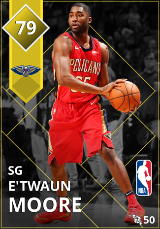 E'Twaun Moore gold card