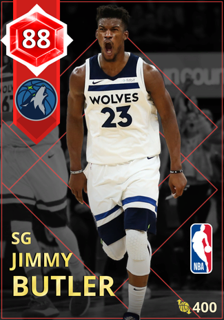 Jimmy Butler ruby card