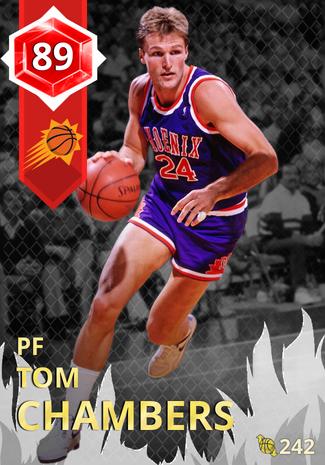 '95 Tom Chambers ruby card