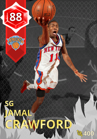 '10 Jamal Crawford ruby card