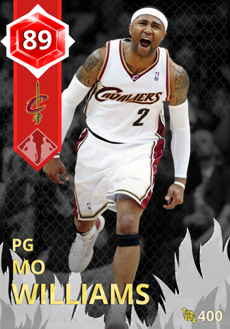 '13 Mo Williams ruby card