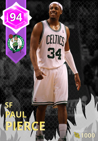 '12 Paul Pierce amethyst card