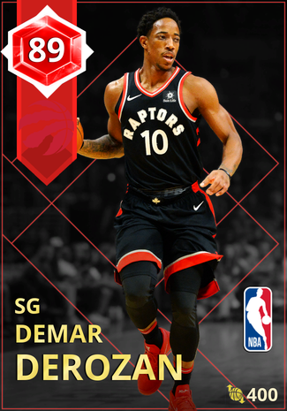 DeMar DeRozan ruby card