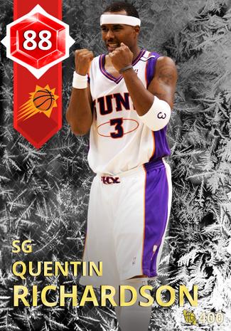 '09 Quentin Richardson ruby card