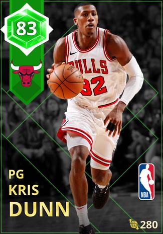 Kris Dunn emerald card
