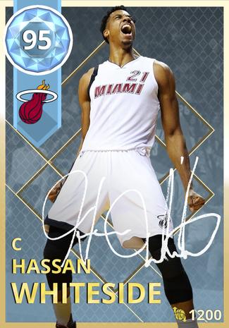 '20 Hassan Whiteside diamond card